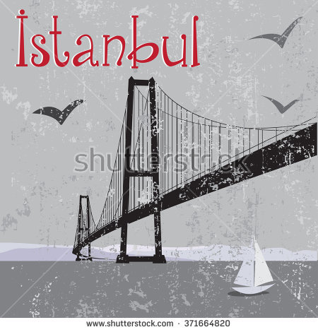 Bosphorus Bridge Stock Illustrations & Cartoons.