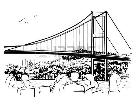 Istanbul Bosphorus Stock Illustrations, Cliparts And Royalty Free.
