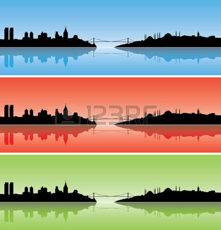 366 The Bosphorus Stock Vector Illustration And Royalty Free The.