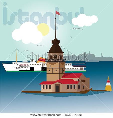 Bosporus Stock Photos, Royalty.