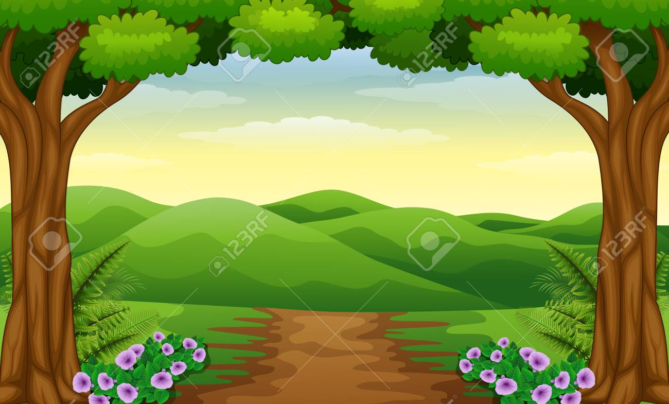 Free Dirt Road Clipart bosque, Download Free Clip Art on Owips.com.