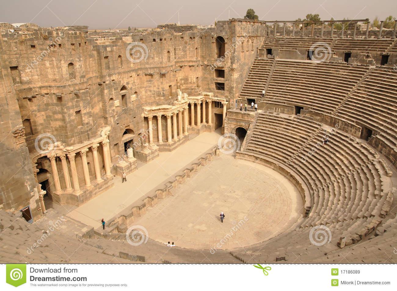 Bosra Amphitheater.
