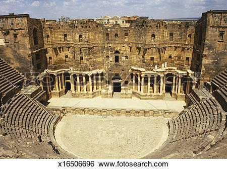 Stock Images of Bosra, Syria, Middle East x16506696.