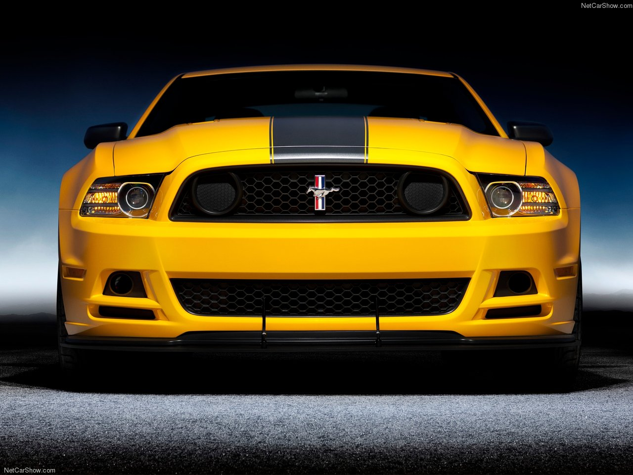 Shelby Mustangs: 15 pictures of Ford Mustang Boss 302 (2013).