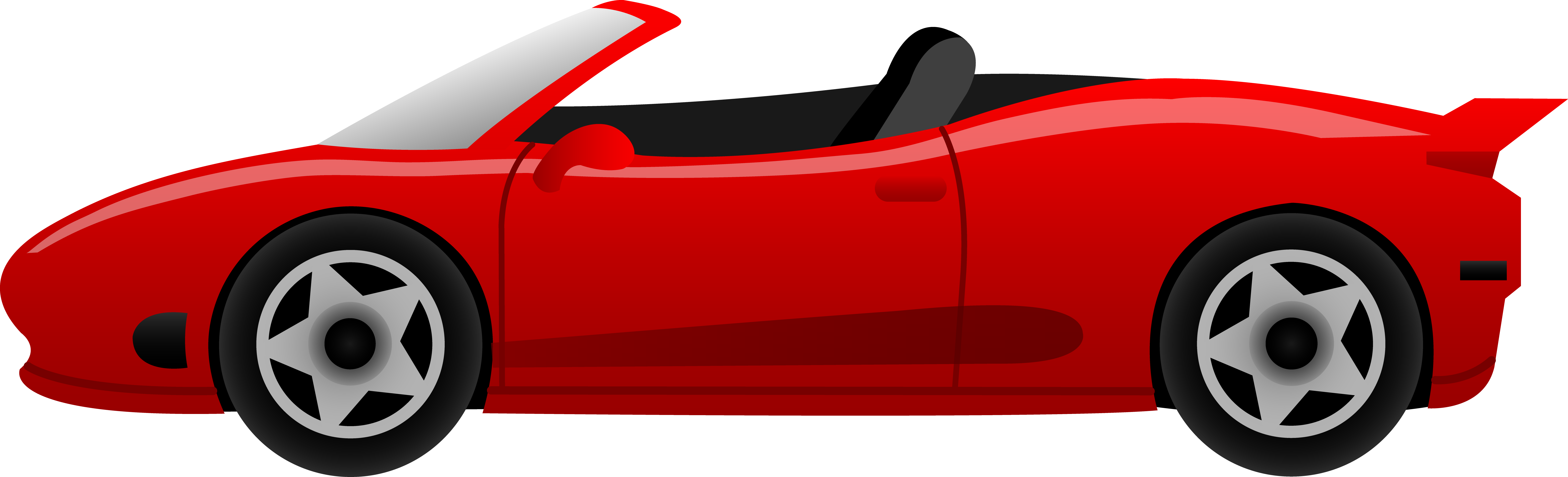 Red car clipart #10
