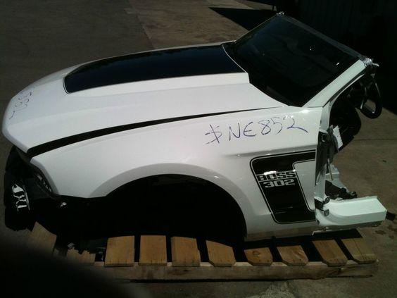 boss 302 wrecked.