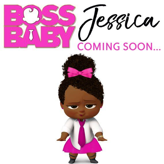 The Boss Baby Girl African.