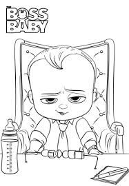 Image result for boss baby clipart black and white.