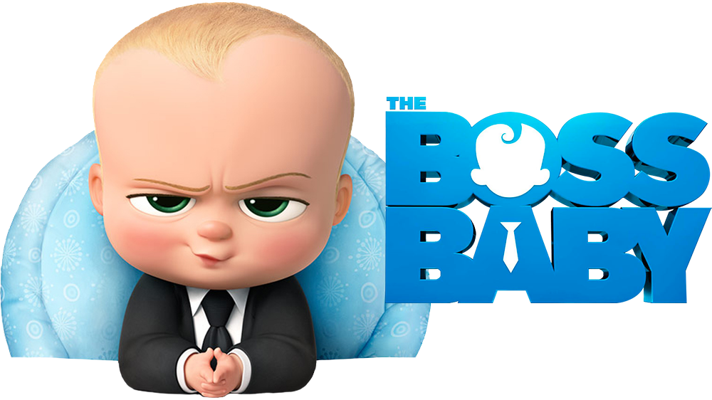 Boss Baby Cartoon PNG Image.