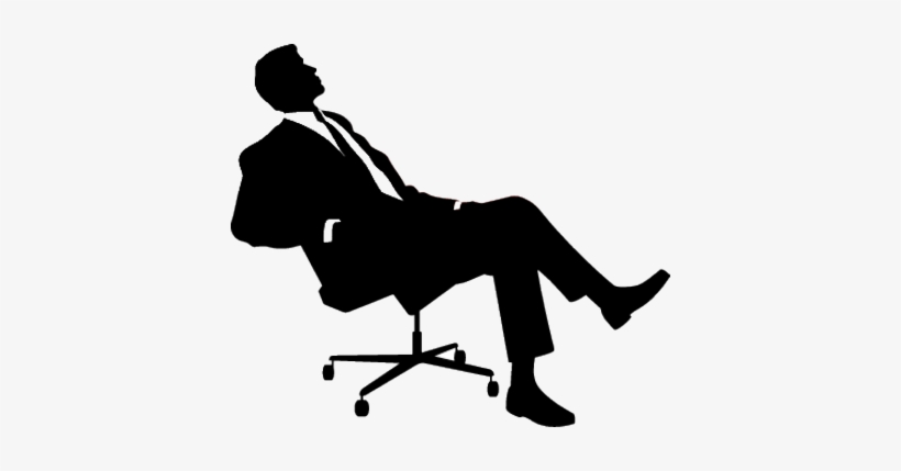 Sitting Man Png.