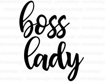 Boss lady clipart.