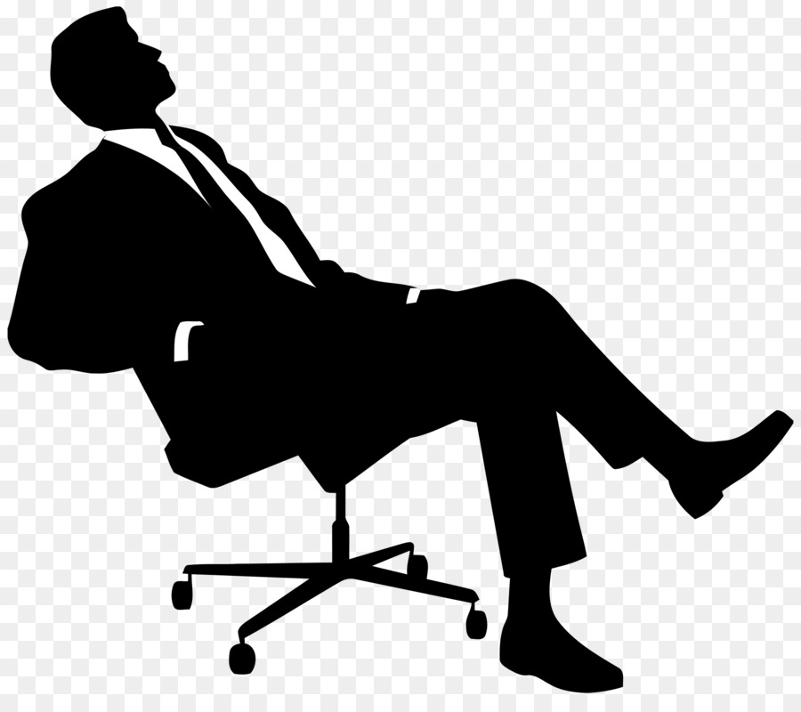 Chair Silhouette Sitting Clip art.