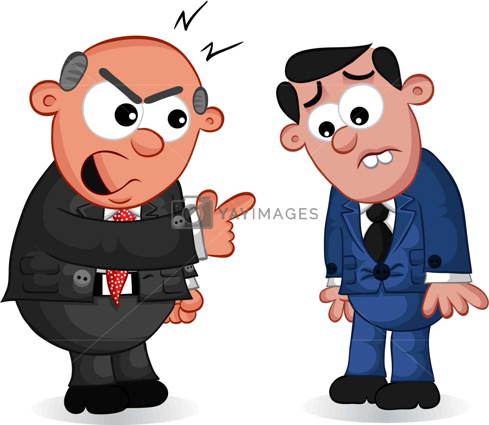 Business Cartoon.