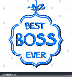 Bosses Day Clipart Free.