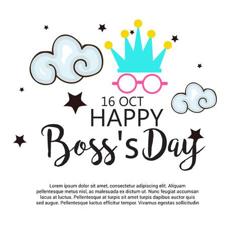 1,009 Boss Day Stock Vector Illustration And Royalty Free Boss Day.