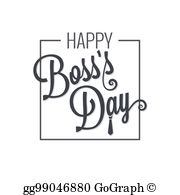 Boss Day Clip Art.