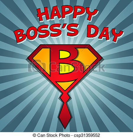happy boss's day.