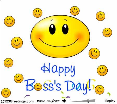 Happy Boss Day Wishes.