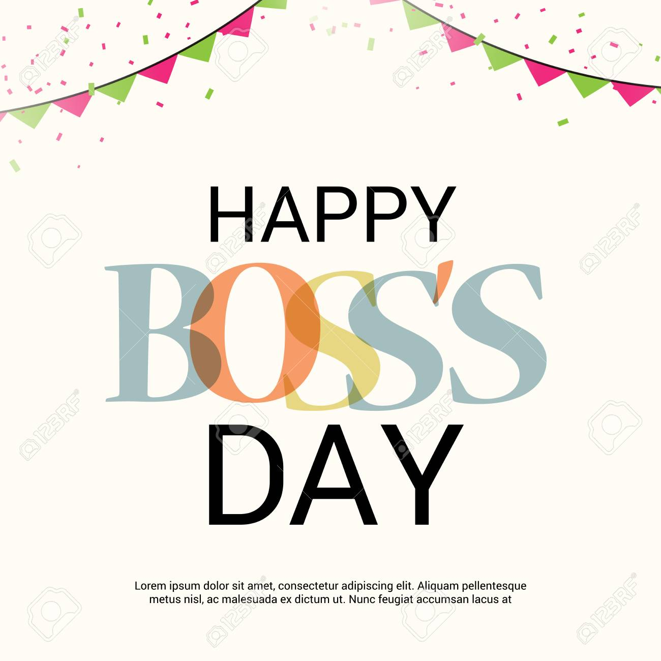 Happy Boss's Day..