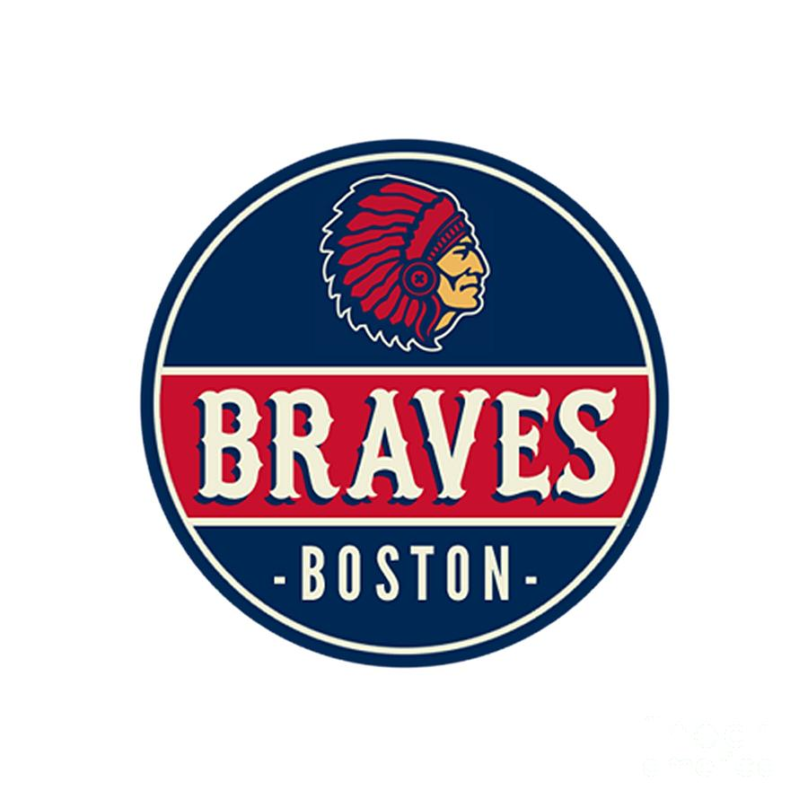 Boston Braves Retro Logo.
