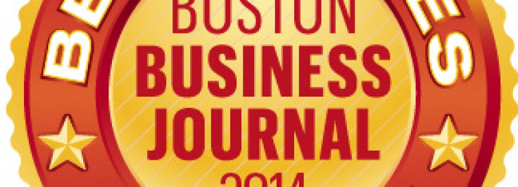 Boston Business Journal awards InsightSquared 2014 best.