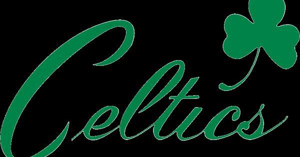 Printable Boston Celtics Logo Stencil.
