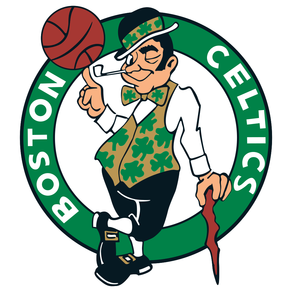 Boston Celtics Logo transparent PNG.