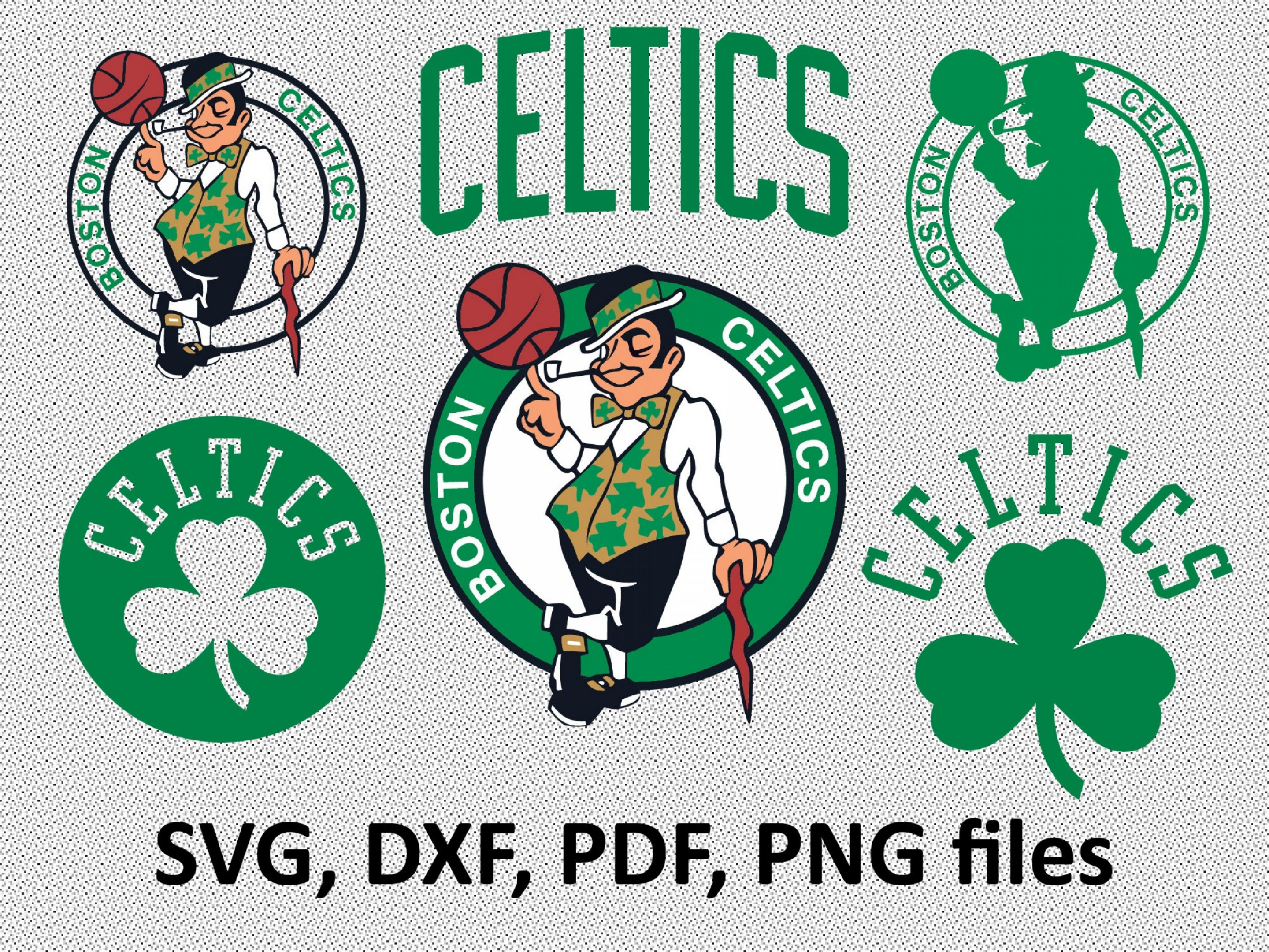 Boston Celtics Svg Dxf Pdf Png Clipart.