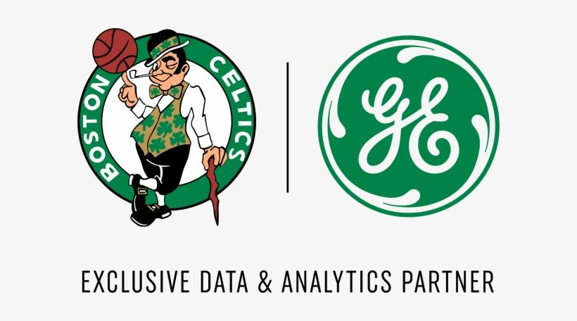 Boston Celtics Ge Logo Transparent PNG.