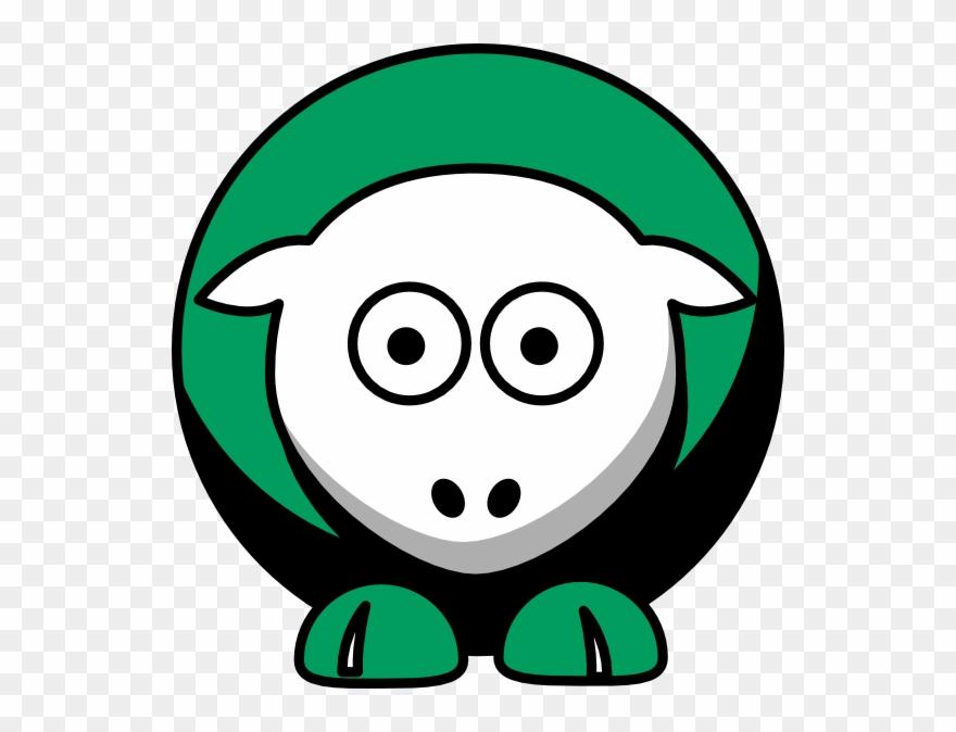 Sheep Boston Celtics Team Colors Clip Art.