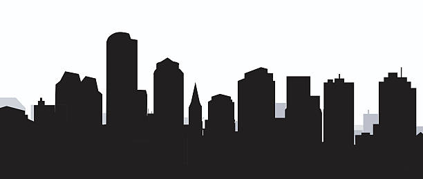 Best Boston Skyline Illustrations, Royalty.