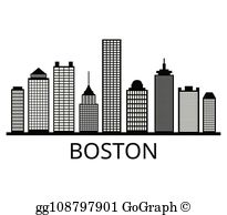 Boston Massachusetts Clip Art.