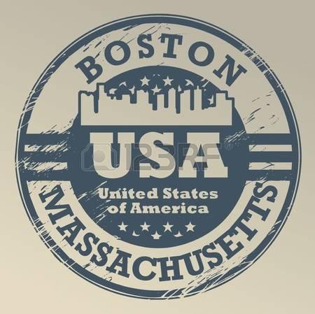 430 Boston Massachusetts Stock Vector Illustration And Royalty.