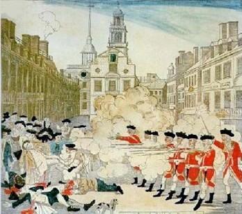 Cliparts Boston Massacre.