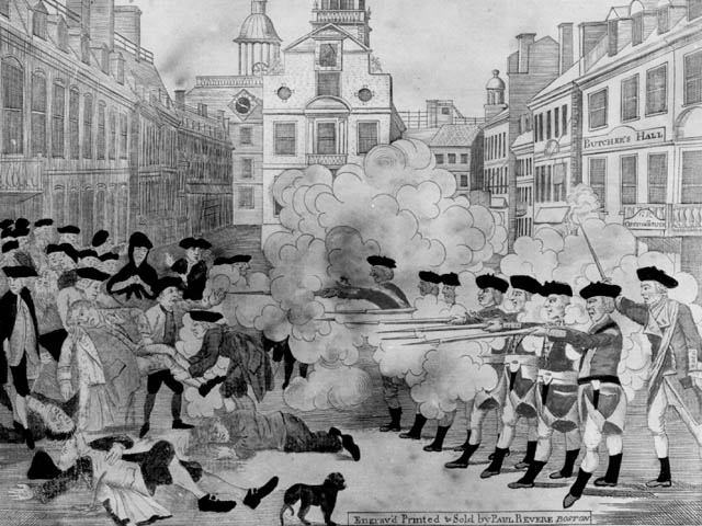 Download march 5 1770 boston massacre clipart Boston Massacre.