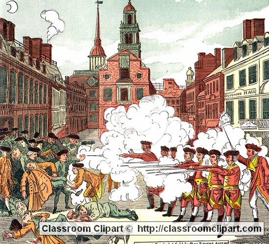 Boston Massacre » Clipart Station.