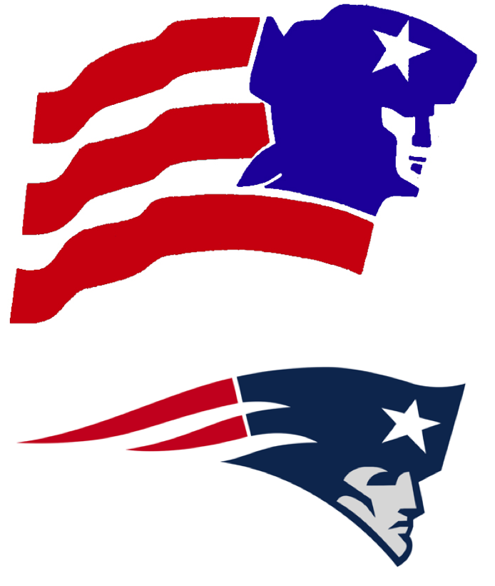 Uni Watch traces the lineage of the Patriots\' \