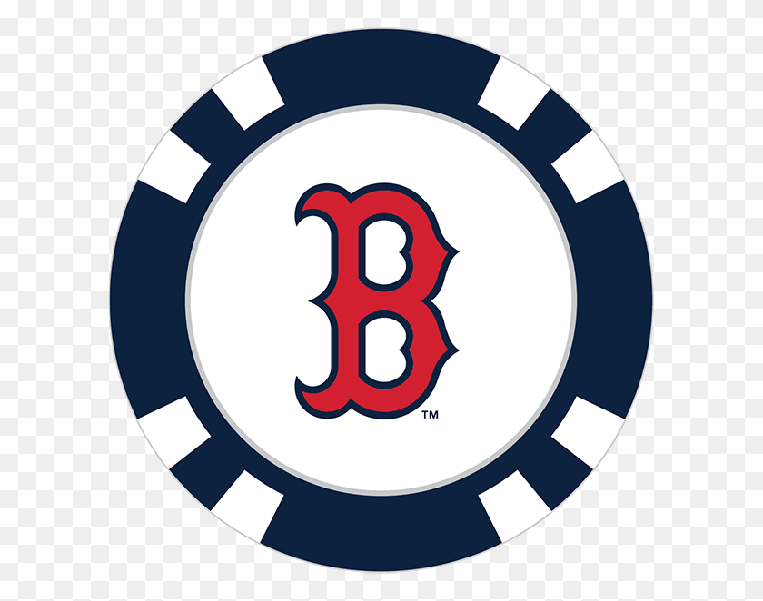 Boston Red Sox Poker Chip Ball Marker.