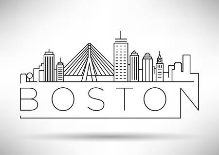 493 Boston Skyline Stock Illustrations, Cliparts And Royalty Free.