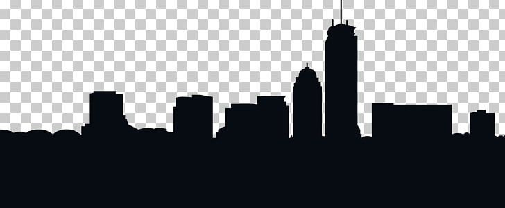 Boston Skyline Silhouette PNG, Clipart, Animals, Black And White.