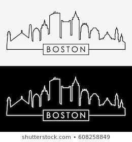 Boston skyline clipart 4 » Clipart Portal.