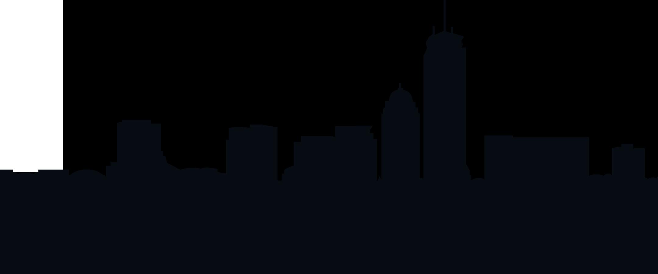 Boston Skyline Silhouette Royalty.