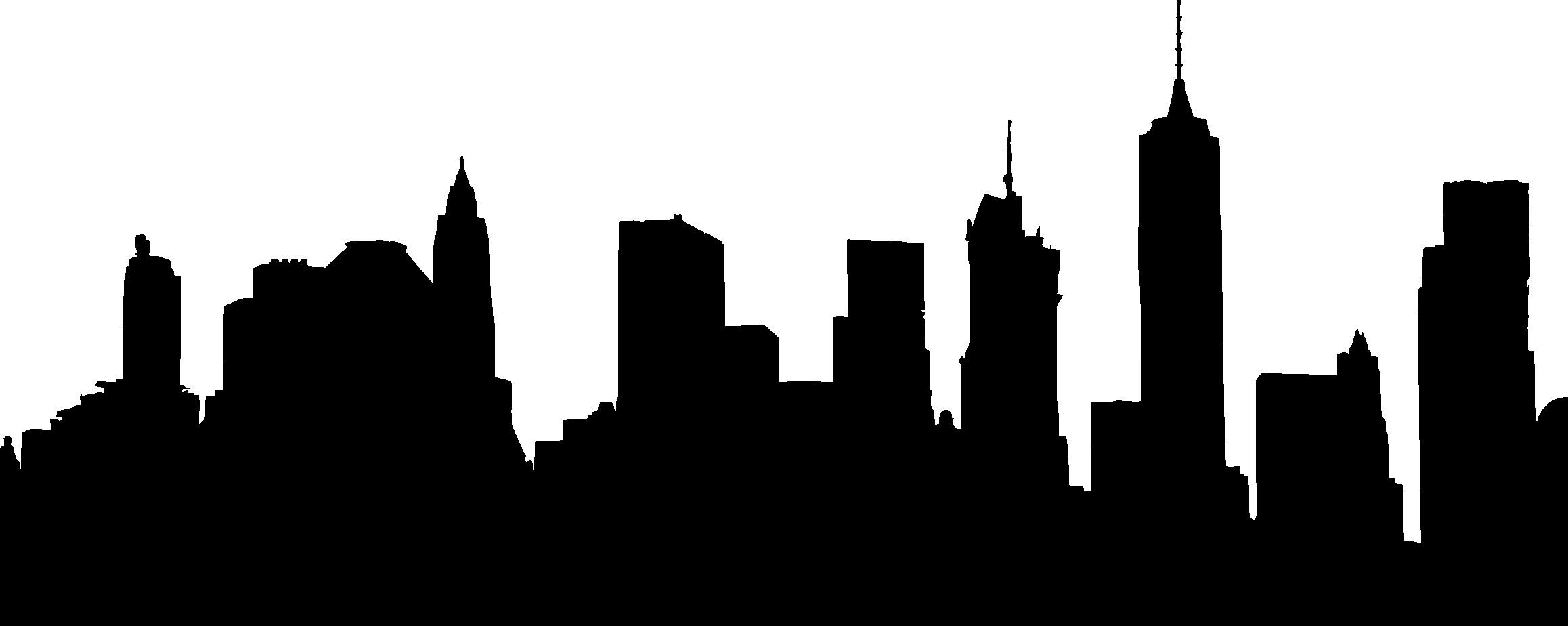 Boston Skyline Line Drawing.