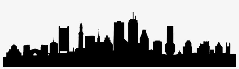 Boston Skyline Silhouette PNG & Download Transparent Boston Skyline.