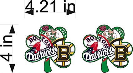 Amazon.com: BOSTON Fan Sport Flag Logo 4\