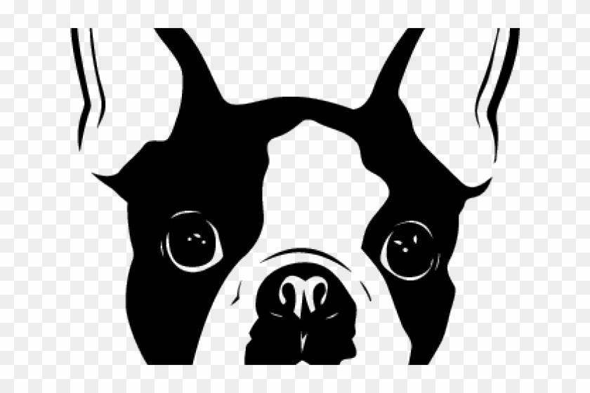 Boston Terrier Clipart Chibi.