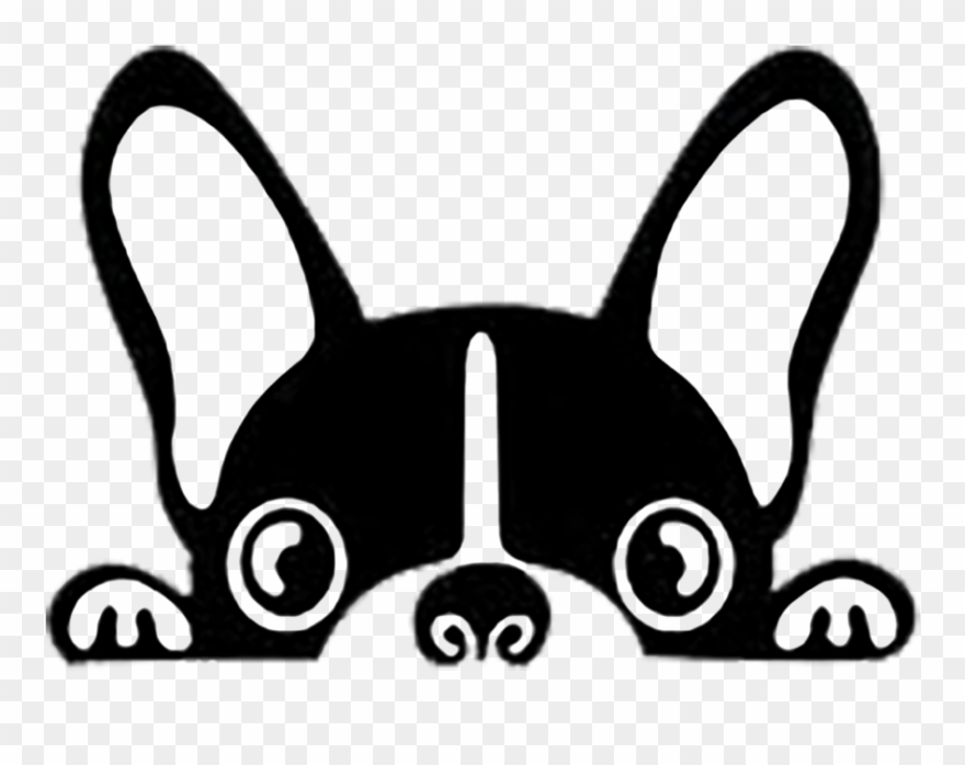 Frenchie Decal.