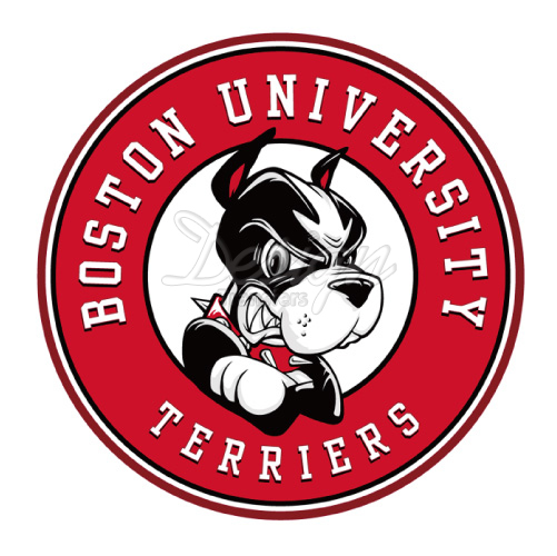 Design Boston University Terriers iron on transfesrs to decorate.