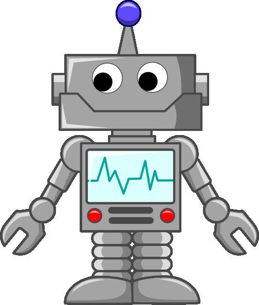 Baby Robot Clipart.