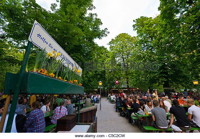 Munich Beer Garden Stock Photos & Munich Beer Garden Stock Images.